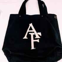 Abercrombie & Fitch Navy Blue Tote Bag Photo