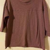 Abercrombie & Fitch Pink Womens Sweater Shirt Size S Cutoff Photo