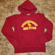 Abercrombie & Fitch Red Hoodie/sweatshirt Girl's Medium. Free Shipping Photo