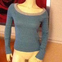 Abercrombie & Fitch - Sweater Aqua / Gray Size- L Photo