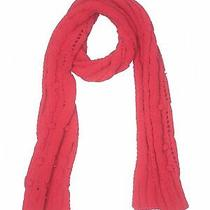 Abercrombie & Fitch Women Red Scarf One Size Photo