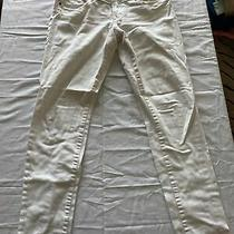 Abercrombie & Fitch Womens White Jeans Size 6r 28 X 31 Photo