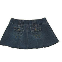 Abercrombie & Fitch Womens Jeans Jean Skirt Size 2 Cute Photo
