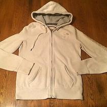 Abercrombie & Fitch Zip Front Hoodie Sweatshirt Junior's Size M Medium Photo