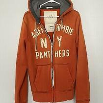 Abercrombie & Fitch Zip Up Hoodie Men's Size L Photo