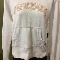 Abercrombie Gently Worn Pullover Hoodie Size Large. Photo