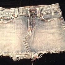 Abercrombie Girls Jean Denim Skirt Size 10 Photo