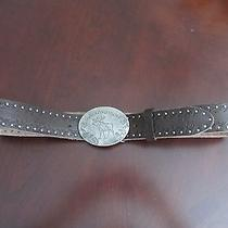 Abercrombie Girls Leather Belt Nwt Photo