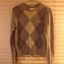 Abercrombie  Gray Green Sweater Kids Xl h&m Forever 21 Cotton Blend Long Sleeve Photo