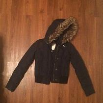 Abercrombie Jacket Navy Blue  Photo