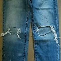 Abercrombie Jeans Girls Size 14 Euc Photo