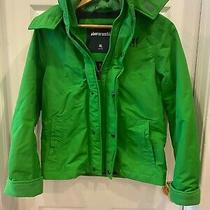 Abercrombie Kids Boy Jacket Size  Xl Nwt  Green  Hoodie Zip New Photo