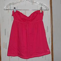 Abercrombie Kids Bright Pink Strapless Cotton Knit Tunictop Girls sz.xl Photo