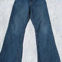 Abercrombie Kids Girls 10 Jeans Flare Boot Cut 100% Cotton Basics  Photo