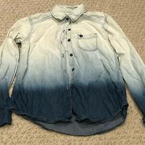 Abercrombie Kids Girls Buttoned Long Sleeve Shirt Size 11/12 Photo