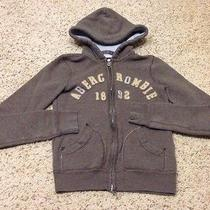 Abercrombie Kids Girls Full Zipper Front Hoodie Sweatshirt Size Medium Photo