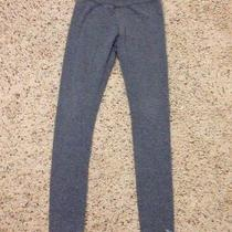 Abercrombie Kids Girls Gray Cute Stretch Leggings Size Medium Photo
