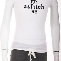 Abercrombie Kids Girls Tee Shirt  New Size Medium  White Photo