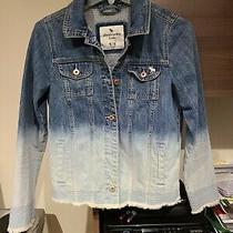 Abercrombie Kids Ombre Jean Jacket Size 15/16 Photo