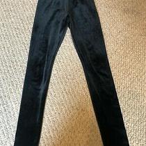 Abercrombie Kids Velour Black Girls Pants Size M Photo