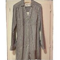 Abercrombie Striped Long Sleeve Shirt Dress Photo