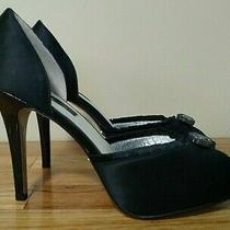 Abs by Allen Schwartz Dressy Shoes Heels     Size 8.5m (B)     Black    (Gt001k) Photo