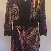 Abs Paisley Printed Dress Photo