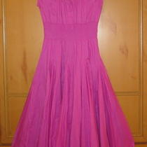 Absolutely Gorgeous Pink Smocked Waist Grace Elements Full Skirt Dress-Sz M-Mint Photo