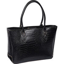 Accessory Street Exotic Burton Laptop Tote - Black Photo