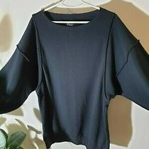 Acne Action Jeans Sweater Hoodie Tunic Black Size L   Photo