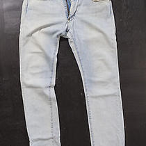 Acne Bike Light Blue Denim Jeans 29x32 Photo