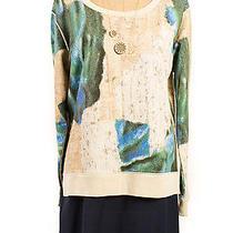 Acne Bird Terazzo Jersey Printed Sweatshirt Photo