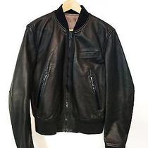 Acne Black Leather Motorcycle Jacket Photo