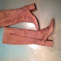 Acne Brown Leather Boots Never Worn Photo