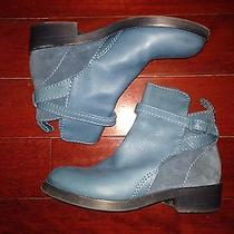 Acne Clover Boot Size 37 Deep Sky Blue Photo