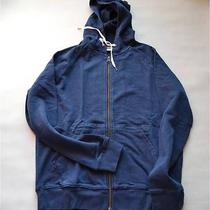 Acne College Hoodie Navy Blue Size M Photo