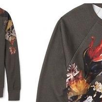 Acne College Sweatshirt Floral - Men's Xs Photo