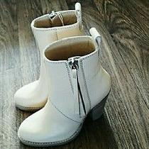Acne Colt Leather Ankle Boots - New Sz 38 - Like Pistol Photo