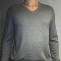 Acne Cotton Jumper  100%Cotton  Size L  v Neck Photo