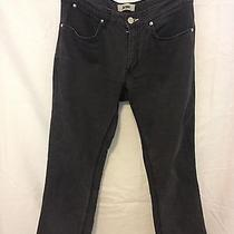 Acne Cropped Gray Denim Jeans Size 31/32 Slim Leg Sweden Comfortable Stretchy Photo