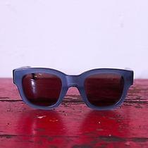Acne Frame Sunglasses (Blue) Photo
