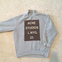 Acne Graphic Sweatshirt by Sheinside Photo