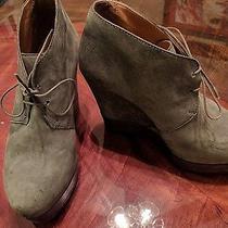 Acne Grey Wedge Booties 37 Photo