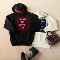 Acne Inpired 'You Are My Cup of Tea' Sweatshirt - Size S Photo