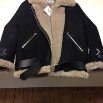 Acne Lamp Shearling Pilot Jacket Velocite Paw13 Photo