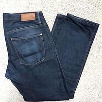 Acne Max Raw Denim Jeans Gently Worn 32 X 29 Photo
