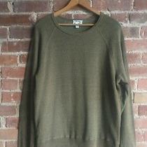 Acne Men's Raglan Sleeve Sweatshirt Size Large 100% Cotton Photo