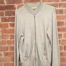 Acne Men's Zip Cardigan Sweatshirt Cotton Cashmere Blend Size Large Photo
