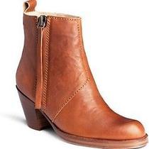 Acne Pistol Short Cognac Ankle Boots Photo