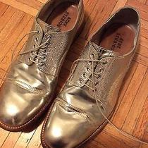 Acne Silver Derby Shoes - Size 44 (Us 11) Photo